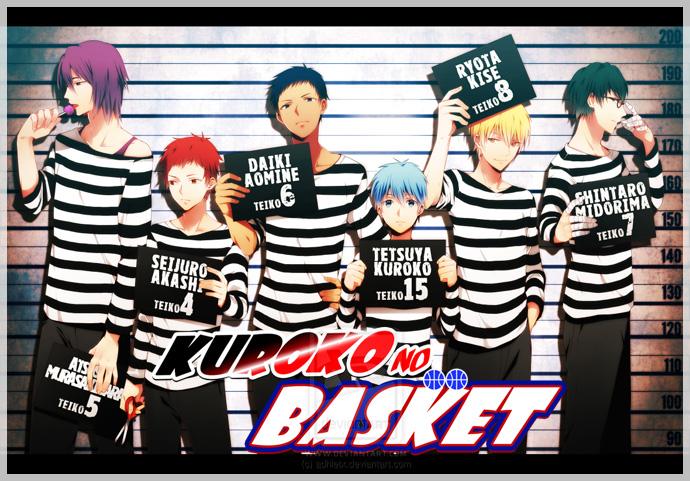 Баскетбол куроко kuroko no basuke 黒子のバス